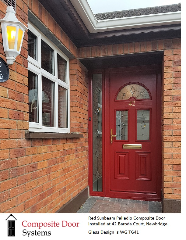 Composite doors at 42-Baroda-Court-Newbridge-County-Kildare