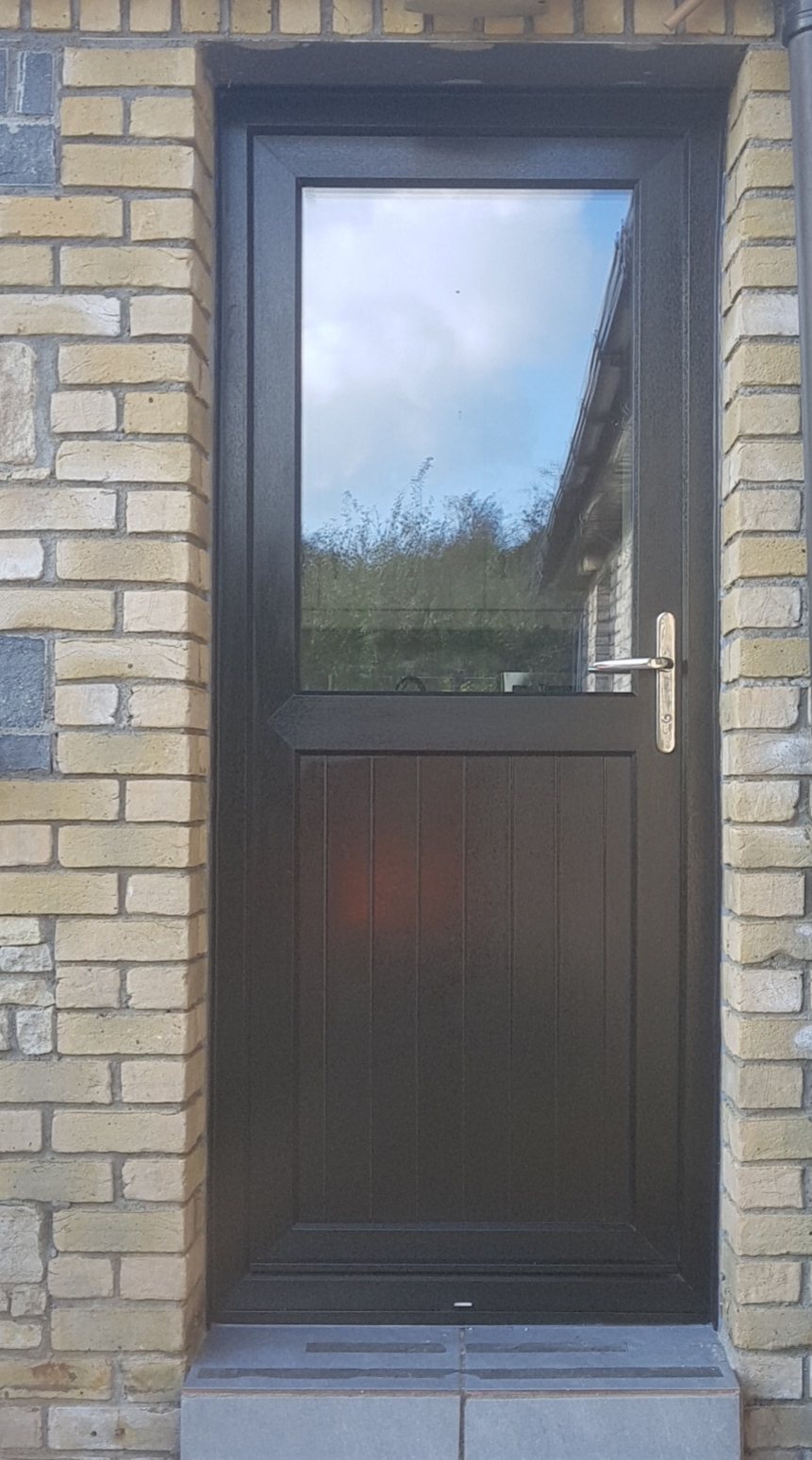 Back-Door-Black-uPVC