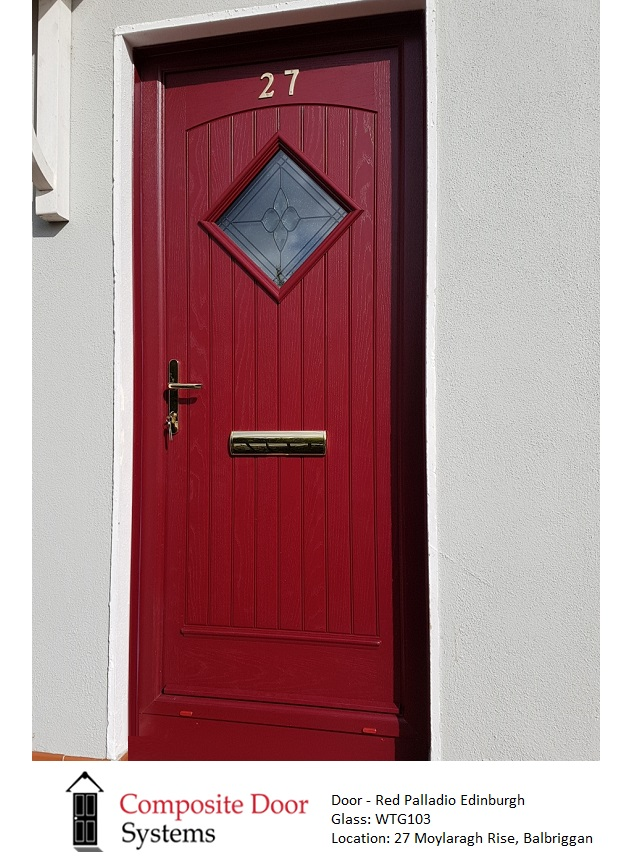 Composite-Door-in-Red-at-Moylaragh-Rise-Balbriggan