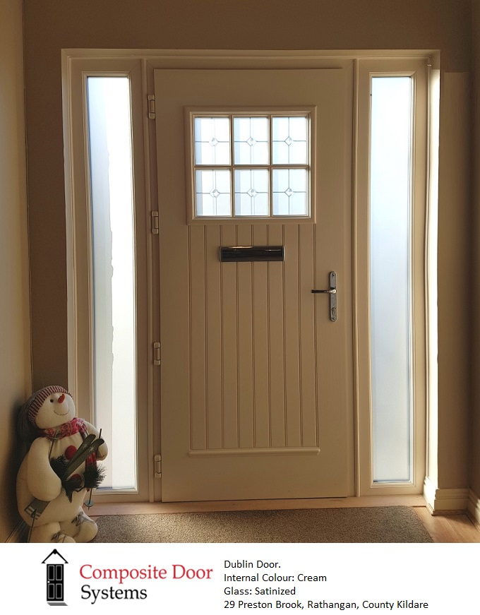 Dublin Door in Cream
