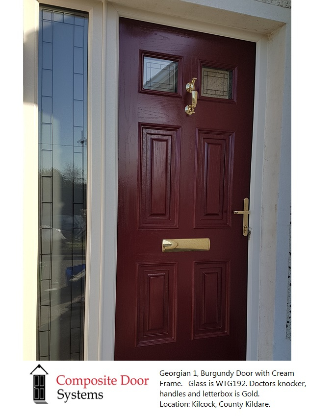 Kilcock-burgundy-door-with-cream-frame