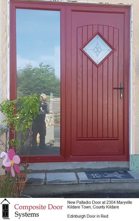 Front  Door in Kildare Town