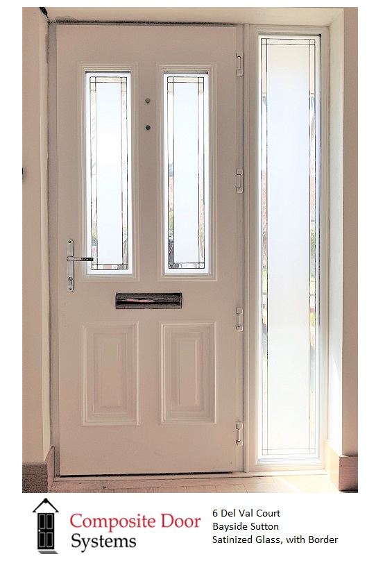 Palladio Composite Doors - The-Palermo-Door-showing-the-TG182-Glass-Design