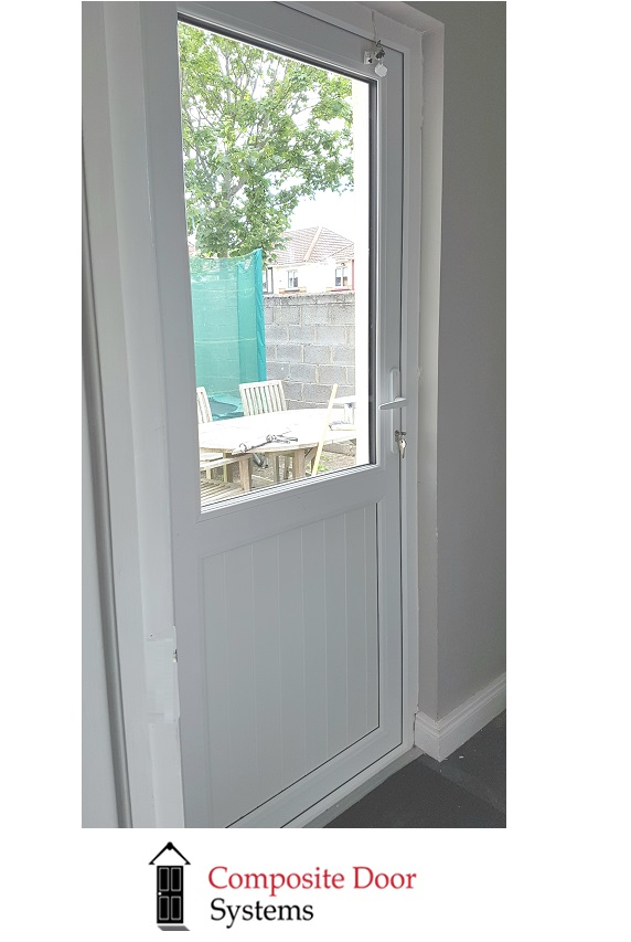 White-uPVC-Back-Door