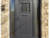 Composite Doors in Grey