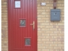 Red-Composite-Door-London-Style