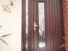 Rome Door in Rosewood