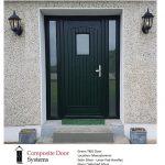 Monasterevin Doors – Green T&G Composite Door installed at Barrow View, Inchacooly, Monasterevin