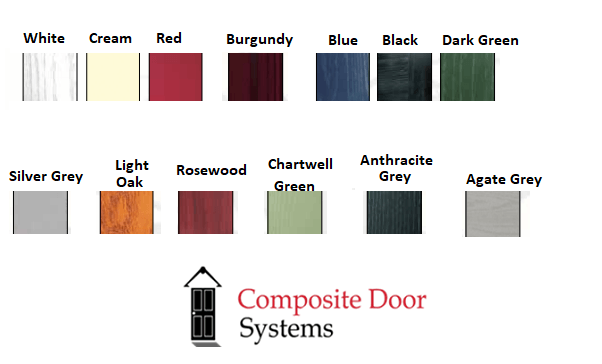 Palladio Colours for Composite Doors