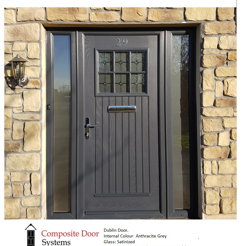 grey composite door from the palladio range of doors
