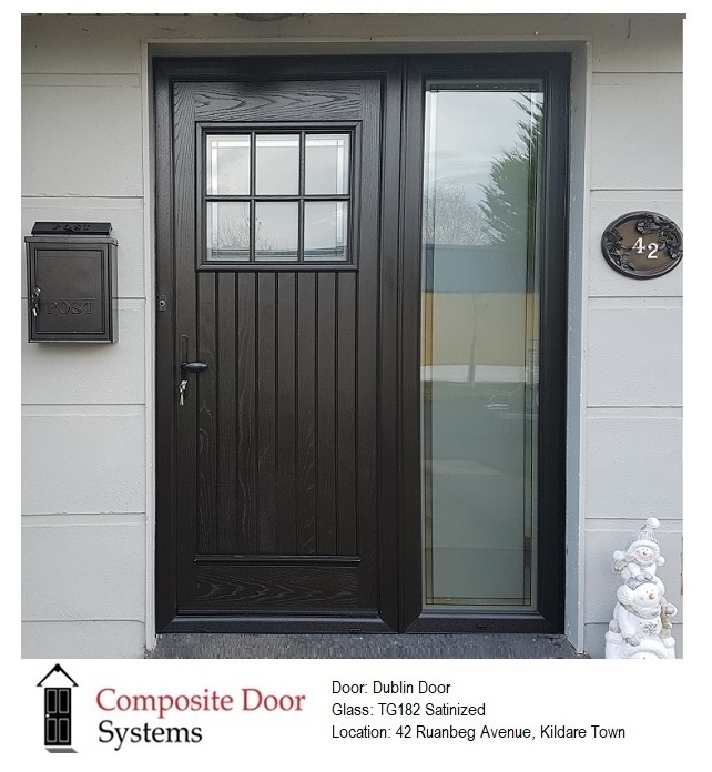 Dublin Door install in Kildare Town by Composite Door Systems