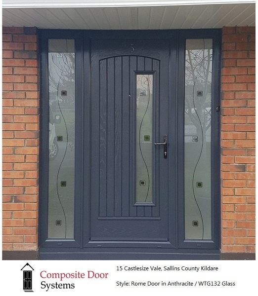 The Rome Door installed in Sallins by Composite Door Systems