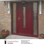 burgundy composite door in clane county kildare (1)