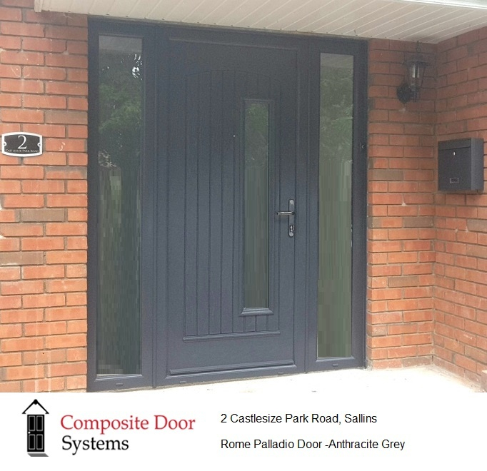 Grey Rome Door installed in Sallins, County Kildare