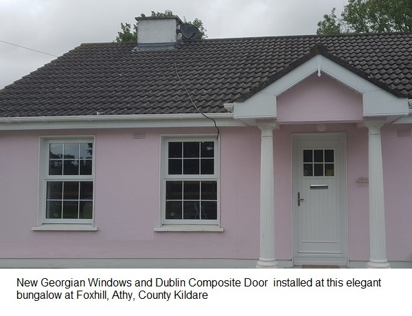 new windows and doors installed at Foxhill, Athy, County Kildare
